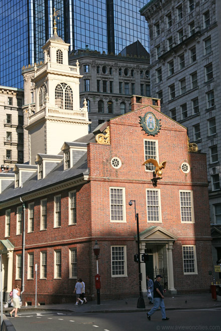 boston town house (state house)
