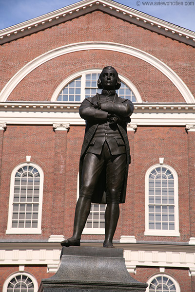 statue of Sam Adams
